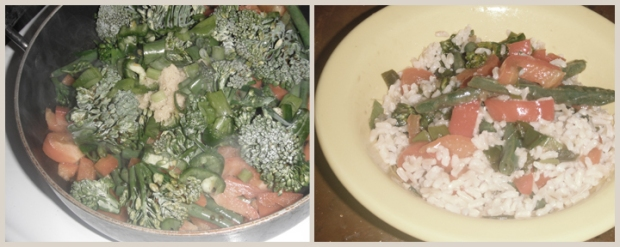 Green Bean/Broccoli Stir-Fry!